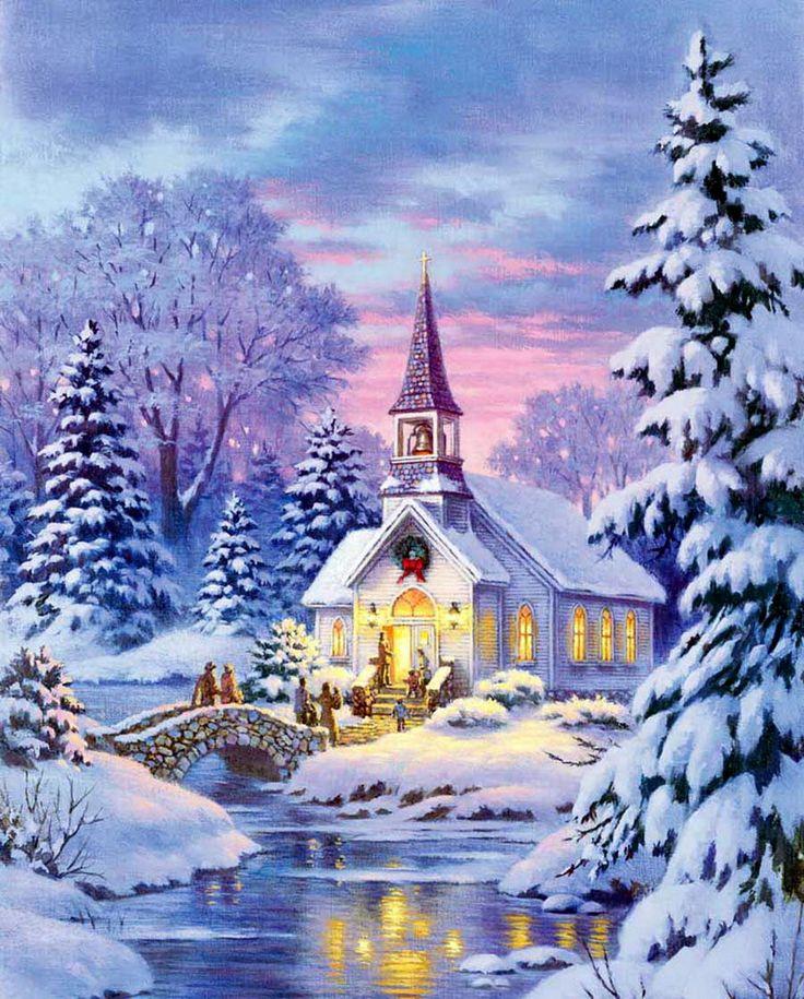 позитивное красивые зимние сказочные картинки на телефон звучат