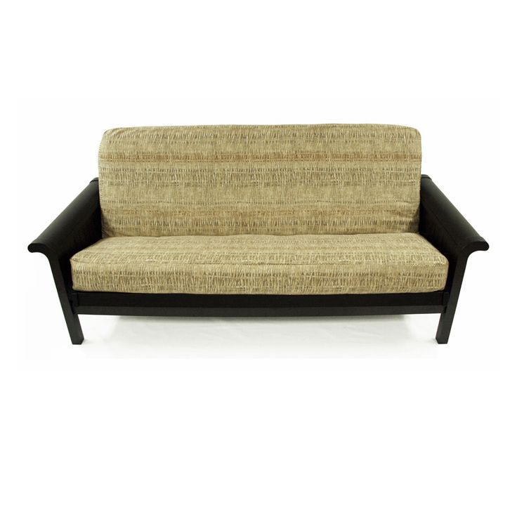 This Full Futon Cover In Winchester Straw Fabric Offers Contemporary Pattern A Great Color