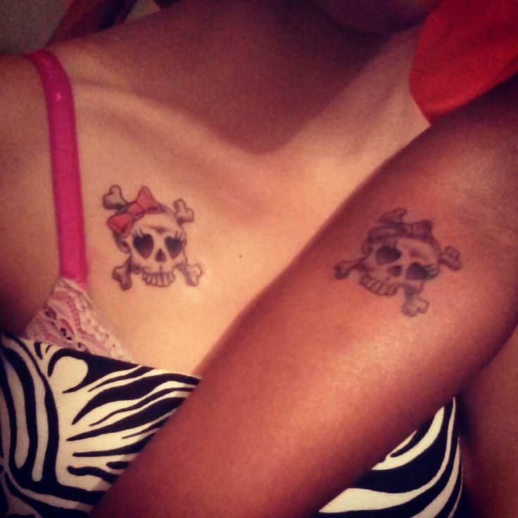 Friendship skull tattoos | Tattoos ️ | Skull tattoos ...