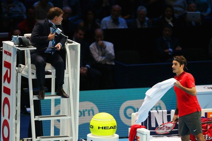 tenis cedric mourier roger federer atp finals (Foto: Getty Images)