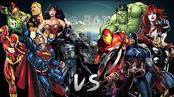keyblade epicas batallas del rap del frikismo los vengadores vs la liga de la justicia - YouTube