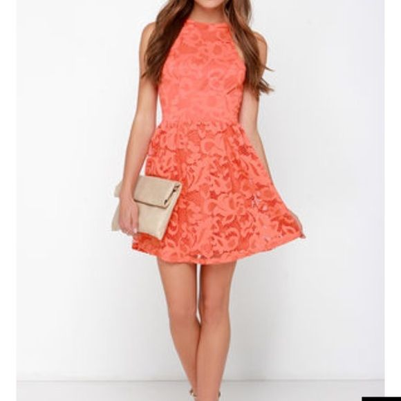 25 best ideas about orange lace dresses on pinterest