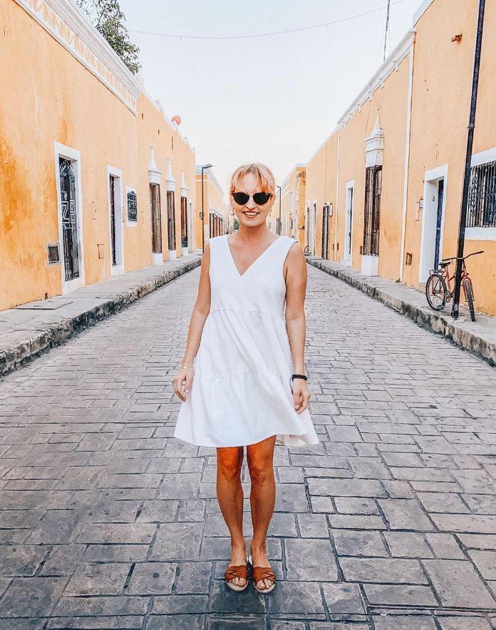 Biala Sukienka Na Lato Fashion Slip Dress Dresses
