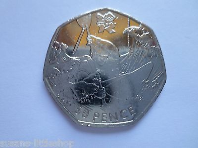 50p #british money 2011 #london #olympics 2012 the canoeing coin by timothy lees ,  View more on the LINK: 	http://www.zeppy.io/product/gb/2/112199254059/
