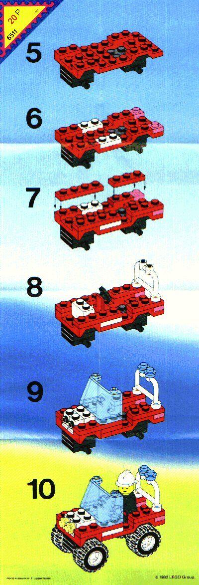 Rescue - Rescue Jeep [Lego 6511]