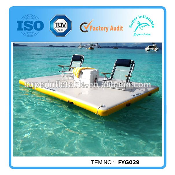25 best ideas about inflatable island on pinterest for Pool platform ideas