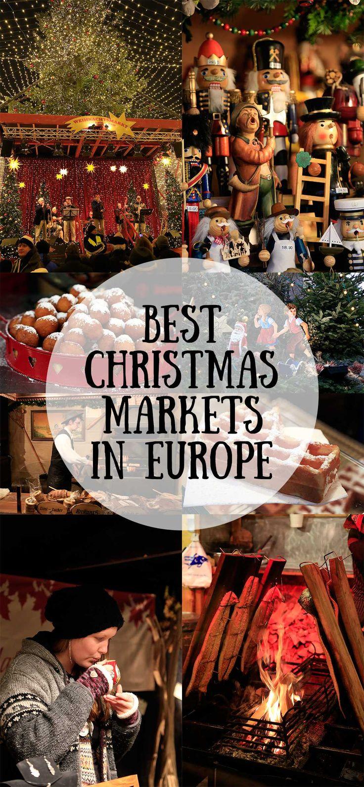 Explorer un marché de Noel européen