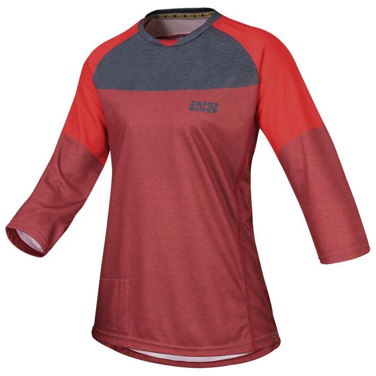 iXS - Women's Vibe 6.1 BC 3/4 Jersey - Maillot de cyclisme | Acheter en ligne sans frais de livraison | Alpiniste.fr