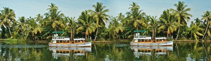 Backwater is contained five big ponds and connecting each other and, so you can enjoy honeymoon the most familiar places in Kerala with reasonable packages at Fli-ghts.