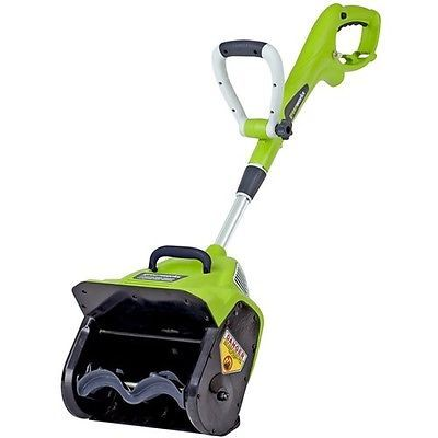 GreenWorks 7 AMP 12' Electric Snow Shovel - seriously just buy one now. You can thank me later. Put my gas-powered snow blower to shame and cleared my driveway and half my sidewalk in like 10 minutes.