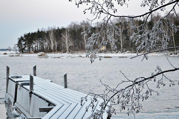 Winter dock 2013-14 Beautiful Tiutinen