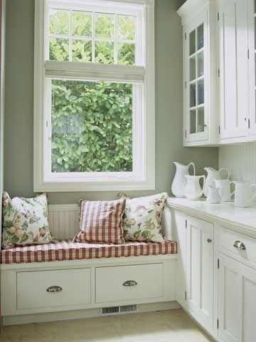 Love this Kitchen Corner.........UNA CASA LLENA DE PEQUEÑOS ESPACIOS CON GUSTO