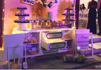 love story #candy table #sweet #love #story #cupcake #wedding