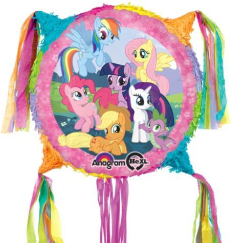 Add-a-Balloon My Little Pony Pinata 18in - Party City