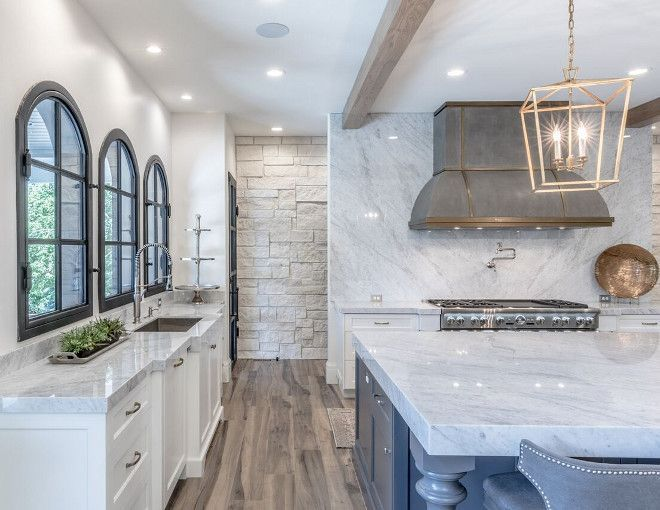 Thick Countertop Kitchen With Thick Countertop This Kitchen Features Thick Countert Kitchen Remodel Countertops Interior Design Kitchen Kitchen Remodel Small