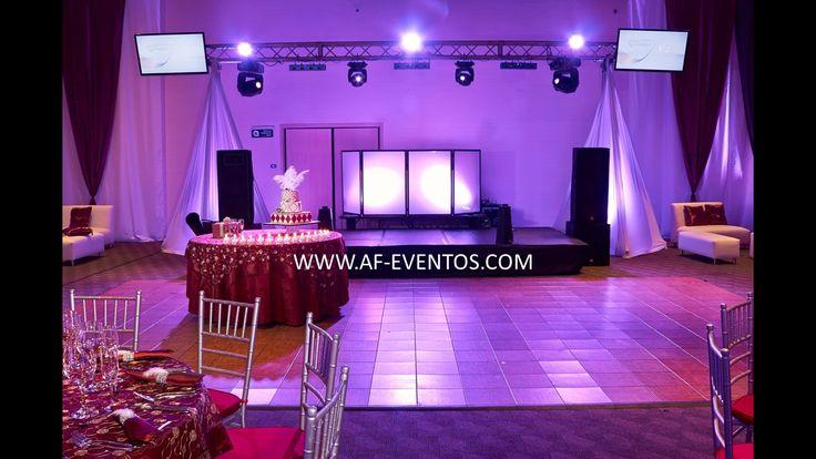 Montaje miniTK, para eventos, 15 años y matrimonios con @afeventos, iincluye módulo de DJ, pantallas y cubrimiento con telas.