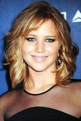 Lob haircut round face