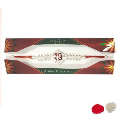 Buy Omkar #Rakhi #Sets online at http://rakhi.giftalove.com/rakhi-sets-854.html