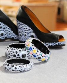 Googley Eyes Bangles And Shoes