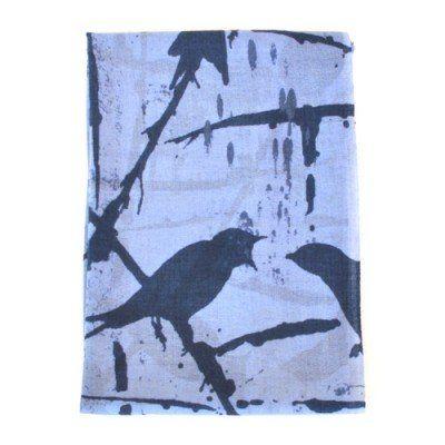 By Who Skjerf Bird Wild Blue