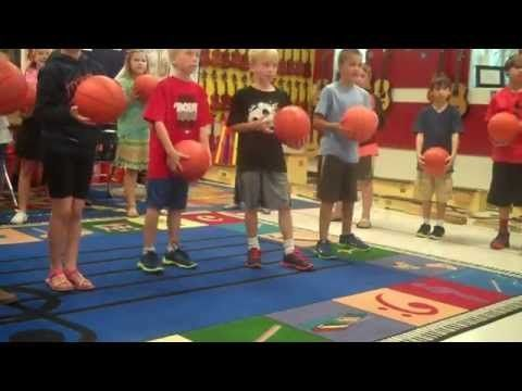 Rhythm Basketball - Elementary Music Lesson for 4th and 5th Grade - Pitch Publications with Shelley Tomich