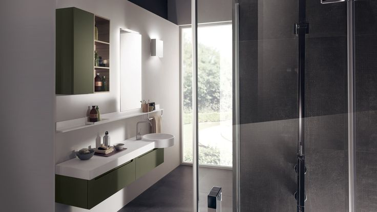 From Scavolini in our showrooms: idro collections.