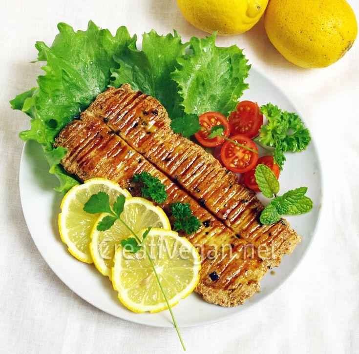 Unagi modoki – pescado vegano con tofu y alga nori! (recipe in spanish)
