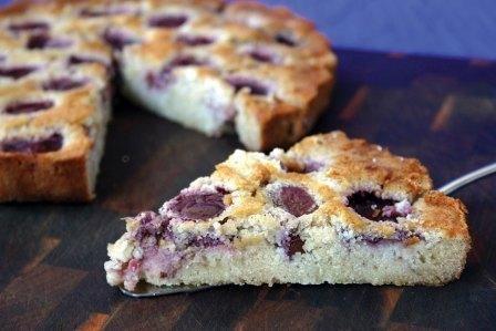 Gluten Free Hazelnut & Plum Flan - Annette Sym - www.symplytogood.com.au
