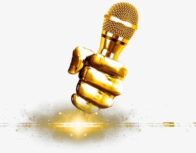 creative microphone microphone golden