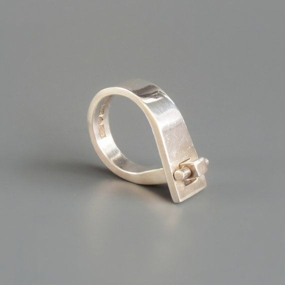 Hey, I found this really awesome Etsy listing at https://www.etsy.com/listing/183744606/scandinavian-modernist-ring-pekka