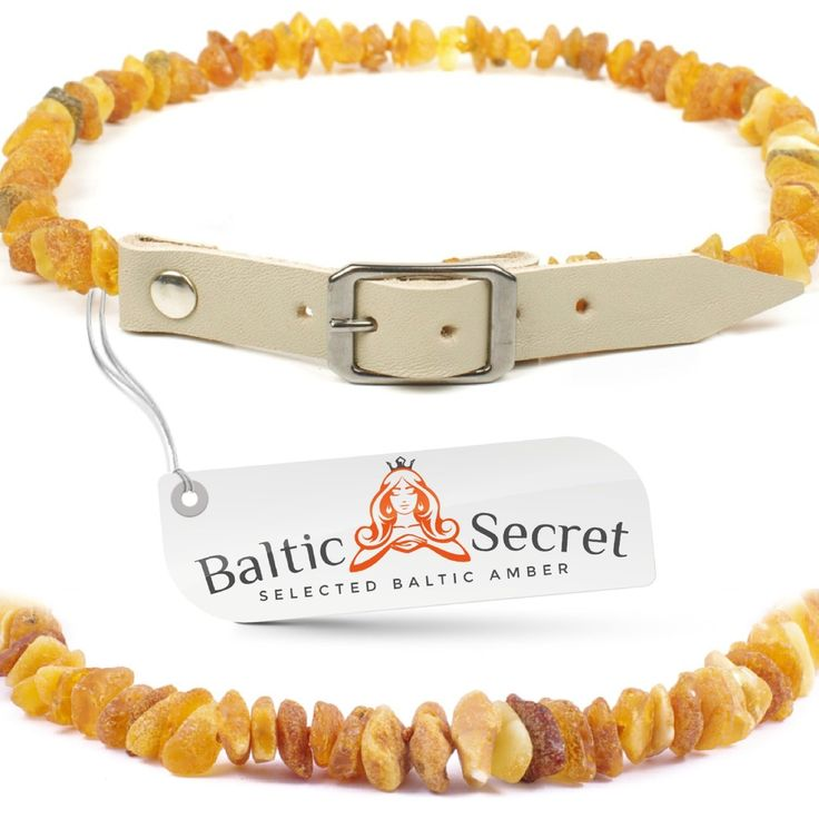 Baltic Secret Amber Flea and Tick Collar for Dogs and Cats / Natural Flea Prevention Control and Treatment / Authentic Baltic Amber 50% Higher in Value and Effectiveness * Check this awesome product by going to the link at the image.