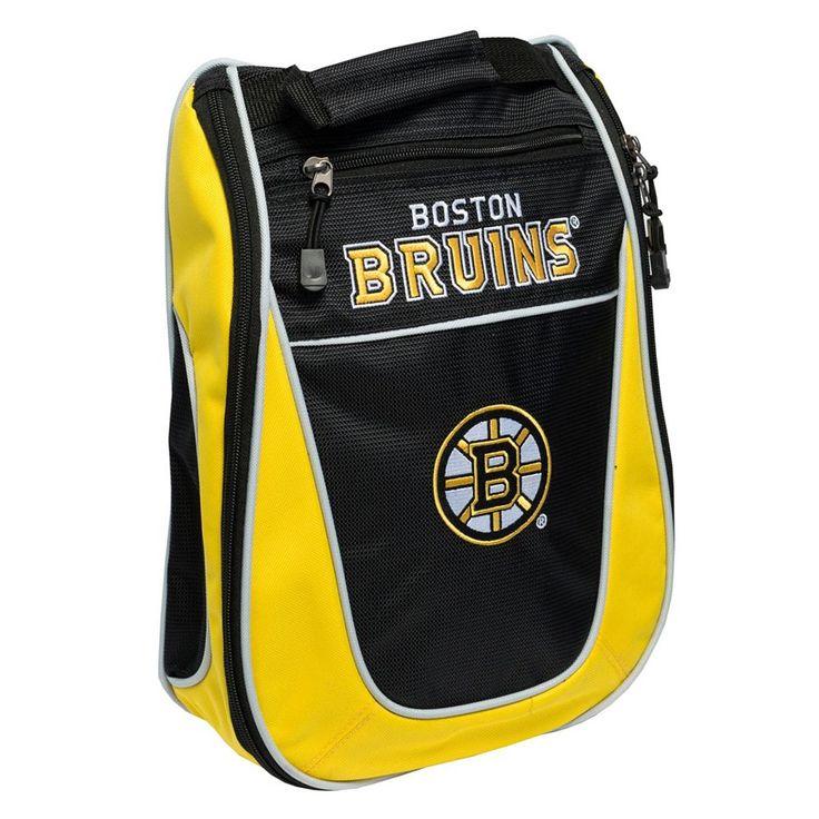 Team Golf Boston Bruins Golf Shoe Bag, Multicolor