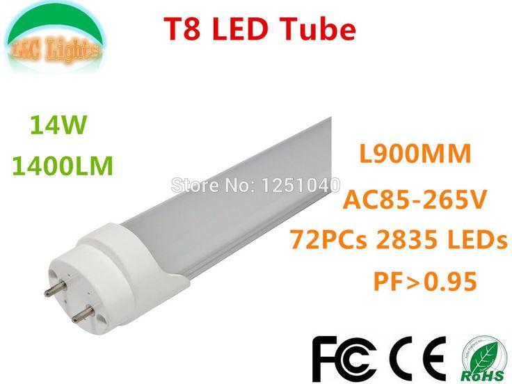 $142.90 (Buy here: https://alitems.com/g/1e8d114494ebda23ff8b16525dc3e8/?i=5&ulp=https%3A%2F%2Fwww.aliexpress.com%2Fitem%2FT8-LED-Tubes-L900M-14W-1400LM-led-lighting-72-LEDs-SMD-2835-indoor-lighting-CE-ROHS%2F1864801438.html ) T8 LED Tubes L900M 14W 1400LM led lighting 72 LEDs SMD 2835 indoor lighting CE & ROHS AC85-265V Warrant 3 Years 10 PCs a lot for just $142.90