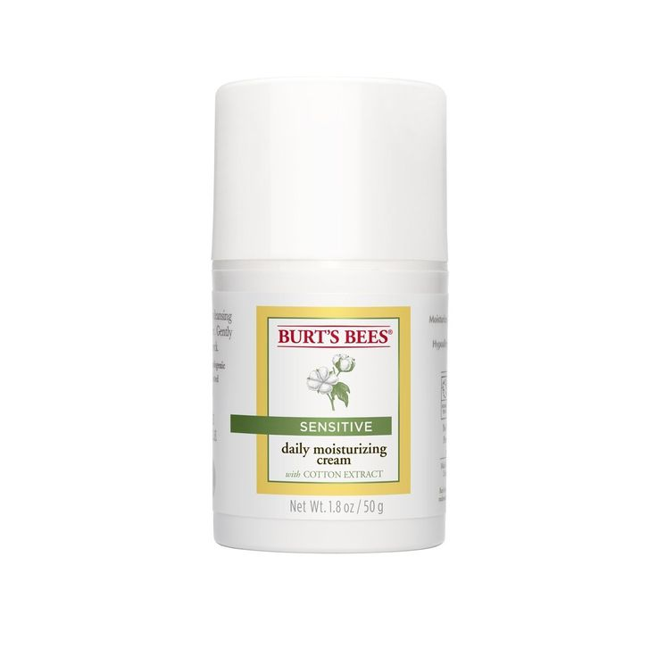 Burt's Bees Daily Face Moisturizer for Sensitive Skin, 1.8 Ounces