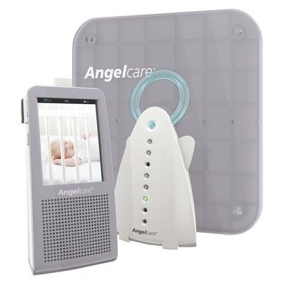 Angelcare AC1100 Video, Movement and Sound Monitor with 1 Rechargeable Parent Unit- #bigbabybasketsweeps