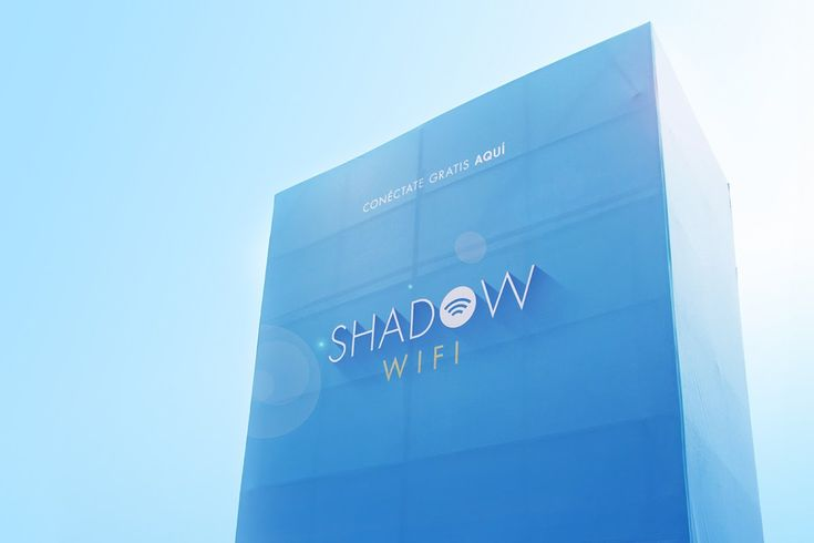 Shadow WiFi by Happiness Brussels