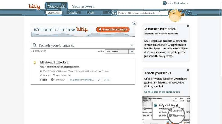 Track and Organize Links Bitly