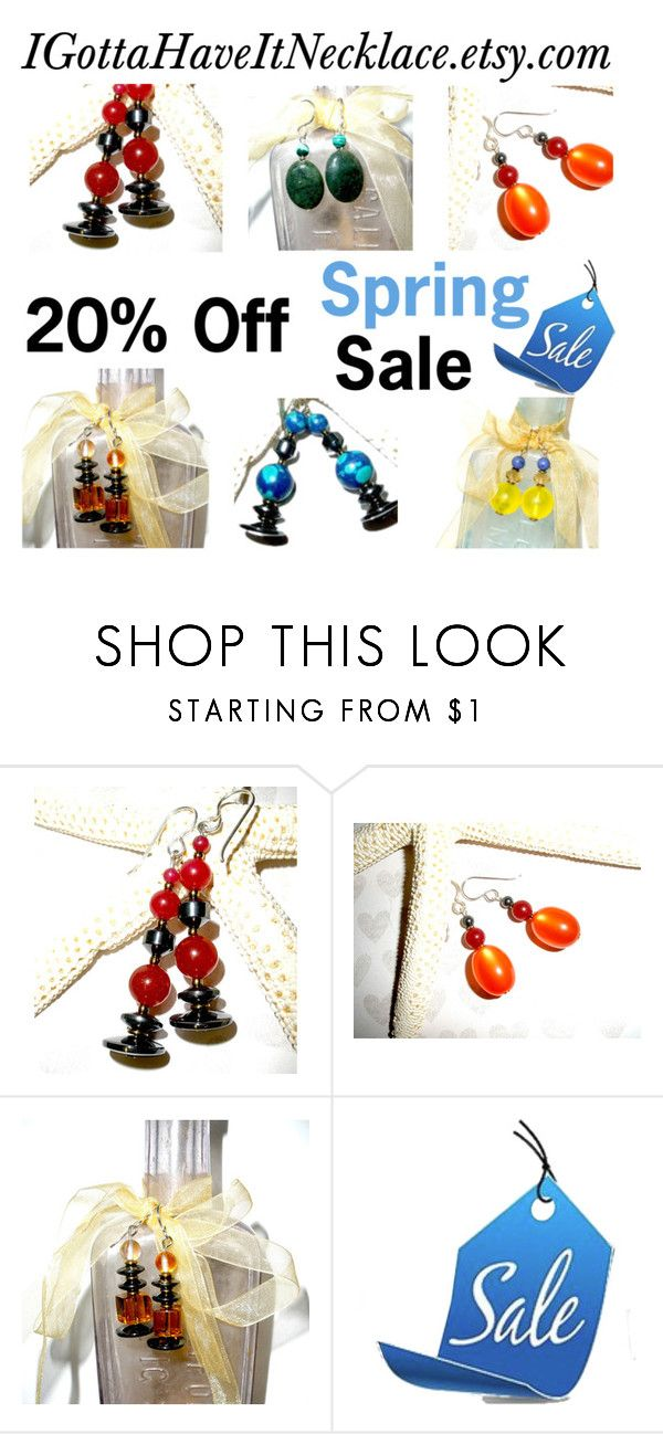 I Gotta Have It Earrings Sale by igottahaveitnecklace on Polyvore featuring Lazuli