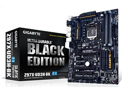 Gigabyte GA-Z97X-UD3H-BK (Black Edition) Motherboard Core i7/i5/i3 LGA1150 Intel Z97 Express ATX RAID Gigabit LAN (Integrated Graphics) - http://pctopic.com/motherboards/gigabyte-ga-z97x-ud3h-bk-black-edition-motherboard-core-i7i5i3-lga1150-intel-z97-express-atx-raid-gigabit-lan-integrated-graphics/
