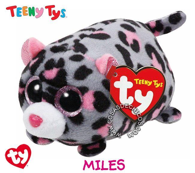 #Nuevos #Peluches #TeenyTys #Originales #TY  #Importados.  Irresistibles y adorables peluches Teeny Tys. Super suavecitos. Con enormes ojos brillantes. Medida: 9 cm. Coleccionalos!  Importador oficial: #Wabro.  #CosasDeChicos #Miles #Leopardo #Leopard #Teeny #Tys