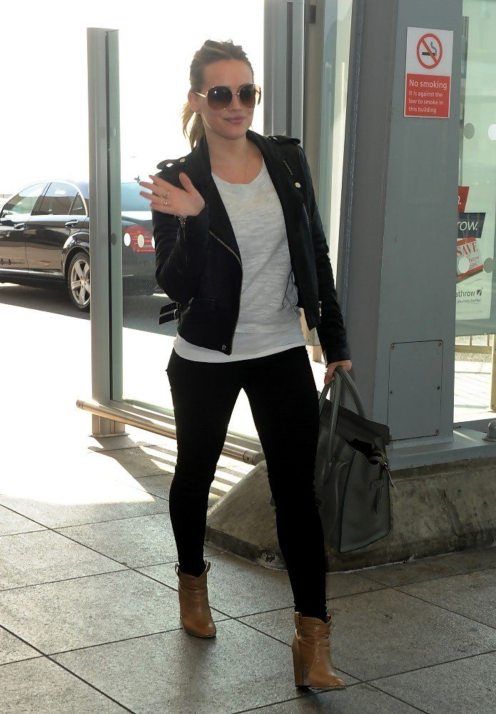Hilary Duff Leather Jacket