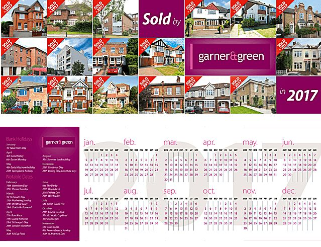 24 best Estate agent leaflet ideas u2013 capture clients with a - calendar flyer template
