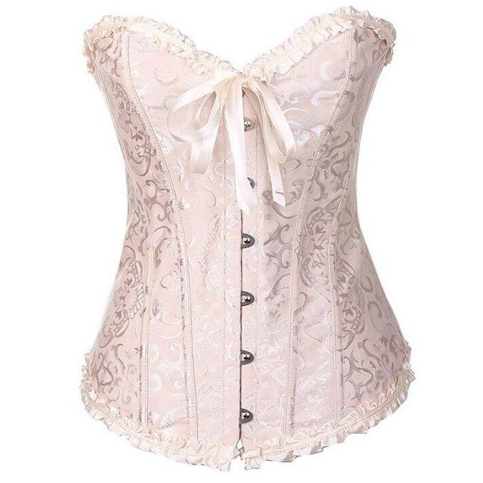 Morality Charm Womens Sexy Seven Kind Of Colors Plus Size Underbust Corset (S…