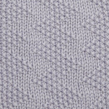 Knitting Moss Stitch How To : Moss stitch zig-zag TheMakingSpot Knitting Pinterest Moss stitch, How...