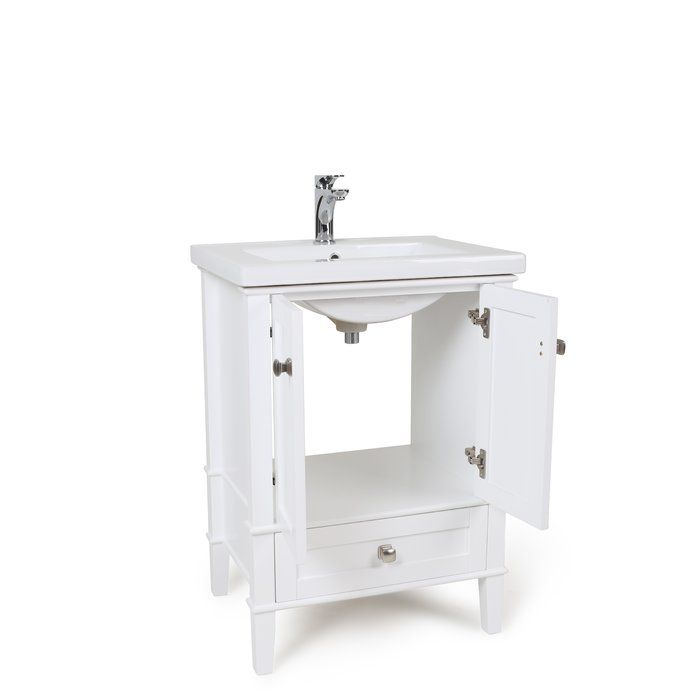 Modena 24 Single Bathroom Vanity Set Single Bathroom Vanity Bathroom Vanity Black Vanity Bathroom