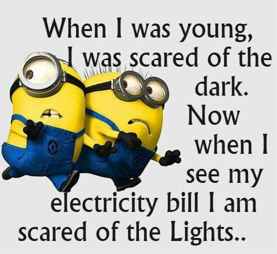 You don't have to be scared of the lights! Saving on your electricity bill with Ambit Energy I going to totalpower.myambit.com 940-235-0864