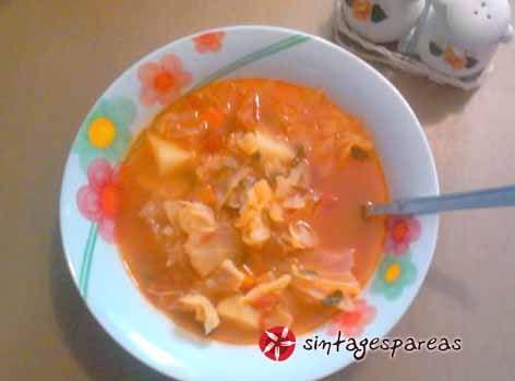 Soup with vegetables #cooklikegreeks #vegetablesoup