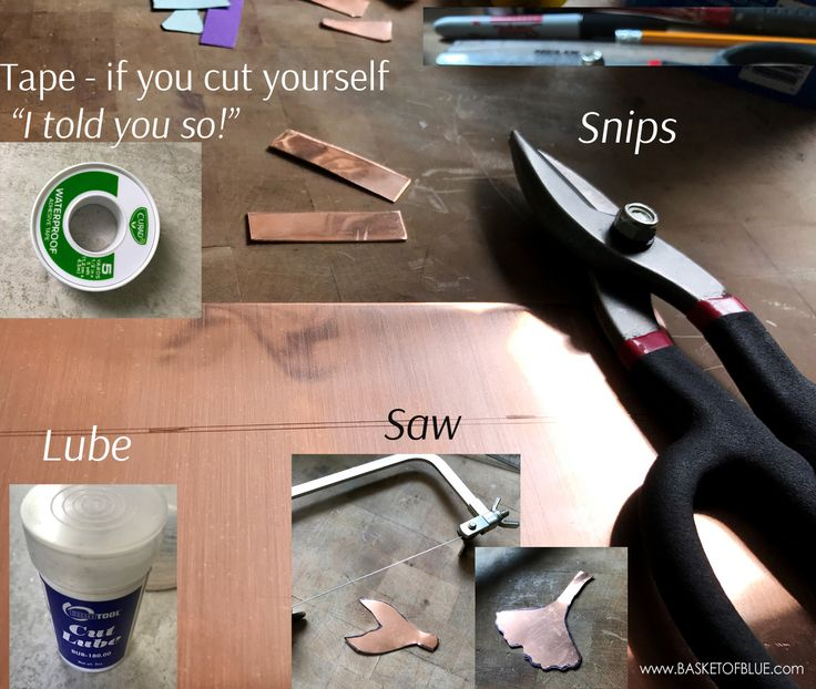 how to cut your own metal