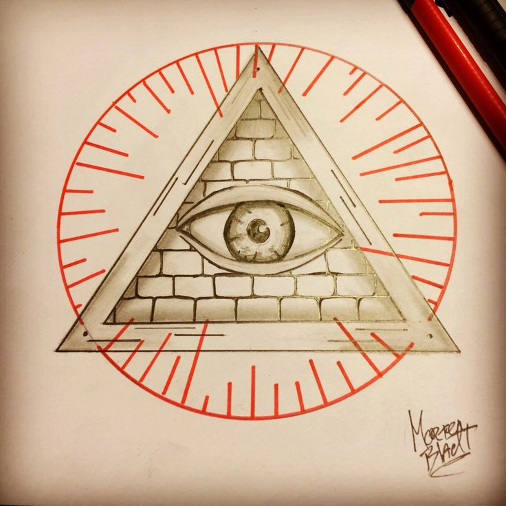 All On The Illuminati: Illuminati Tattoo All Seeing Eye By Bladtart