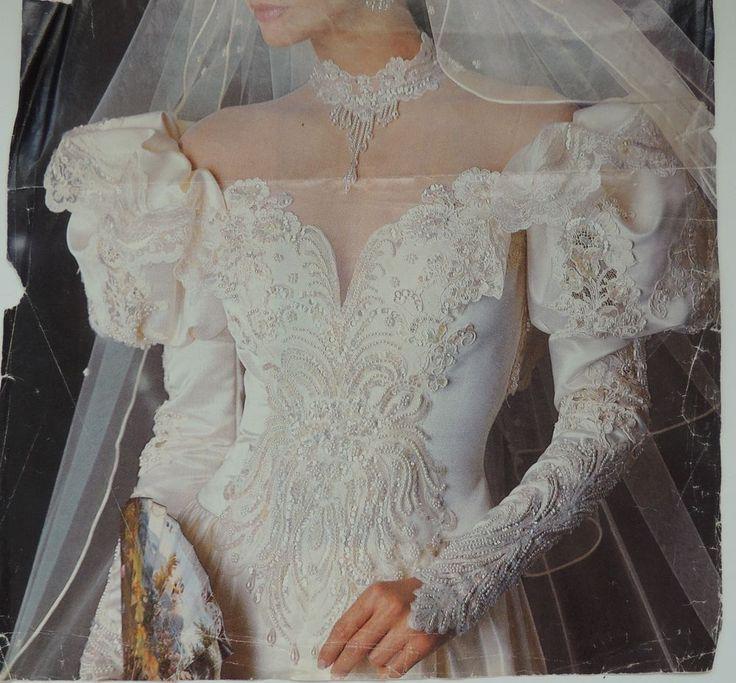 191 Best 1980s Vintage Bridal Images On Pinterest